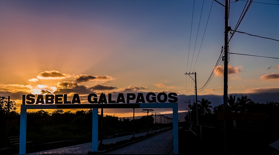 Puerto Villamil on Isabela Island
